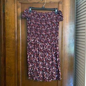 Express Off the Shoulder Dress- size M